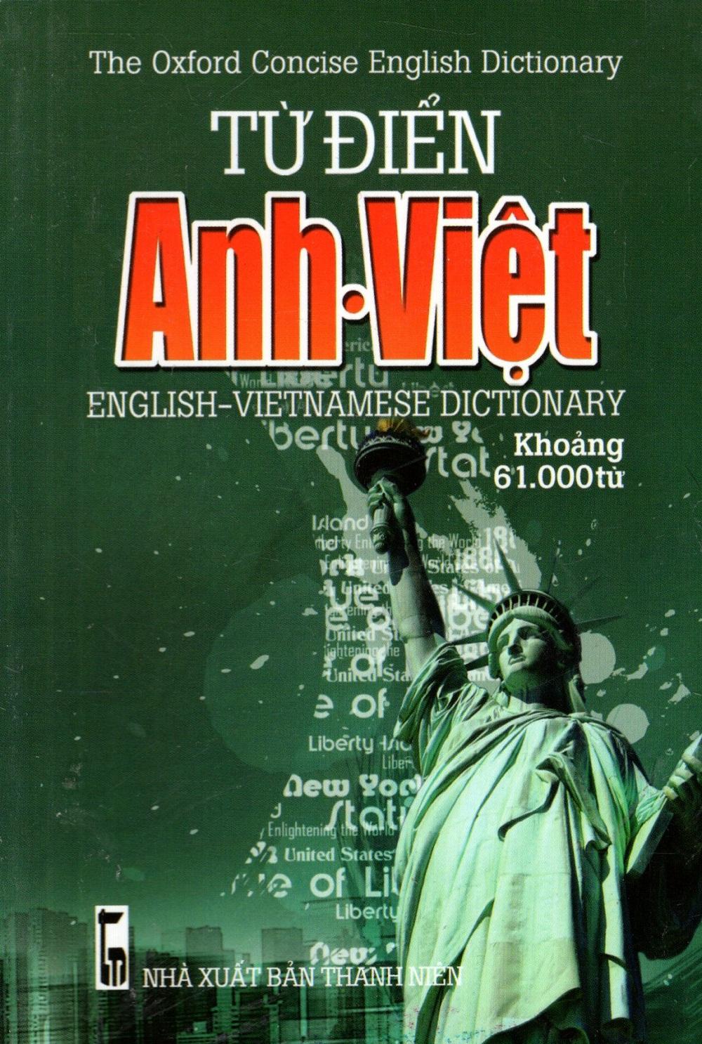 Bìa sách Từ Điển Anh - Việt (Khoảng 61.000 Từ) (2014) - Sách Bỏ Túi