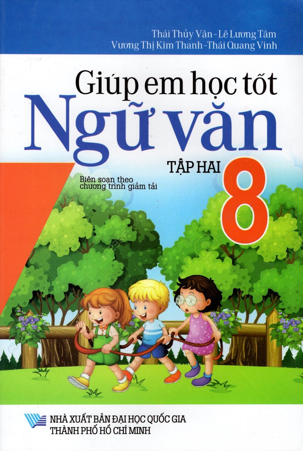Bìa sách Giúp Em Học Tốt Ngữ Văn Lớp 8 (Tập Hai)