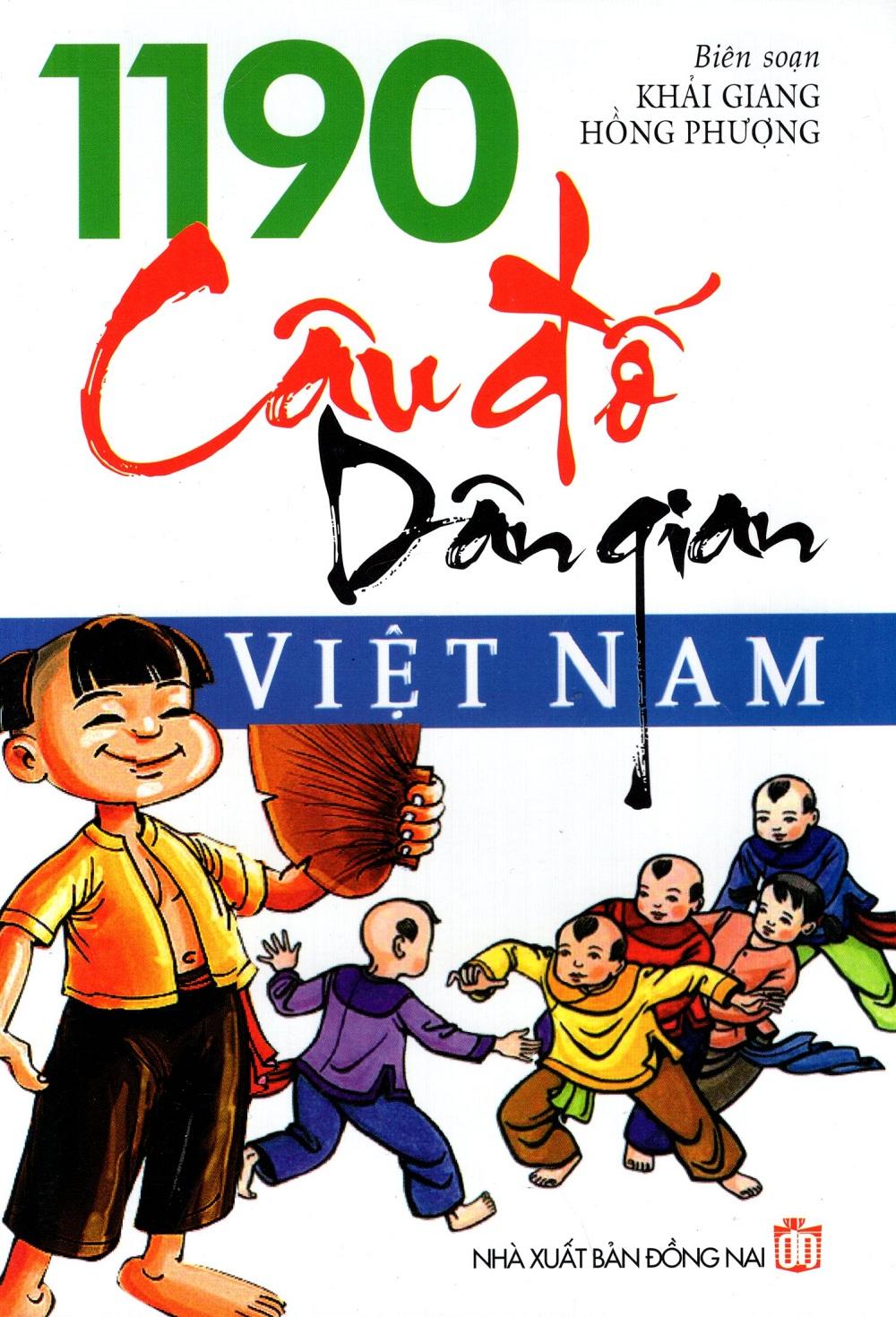 Bìa sách 1190 Câu Đố Dân Gian Việt Nam