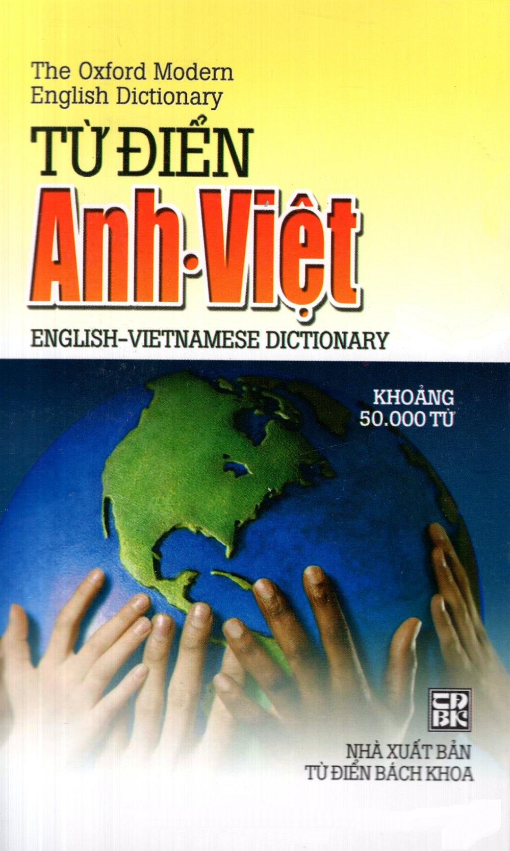 Bìa sách Từ Điển Anh - Việt (Khoảng 50.000 Từ) (2013) - Sách Bỏ Túi