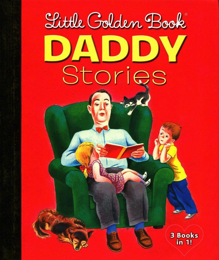 Bìa sách Little Golden Book: Daddy Stories