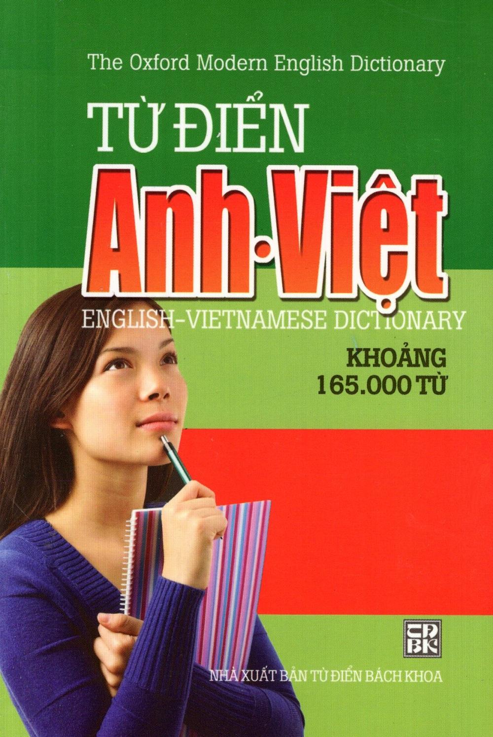 Bìa sách Từ Điển Anh - Việt (Khoảng 165.000 Từ) (NS Minh Trí) - Sách Bỏ Túi