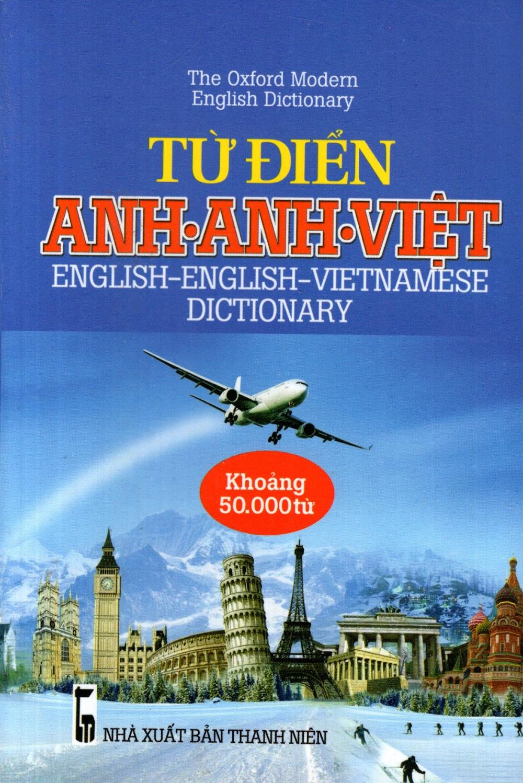 Bìa sách Từ Điển Anh - Anh - Việt (Khoảng 50.000 Từ) - Sách Bỏ Túi