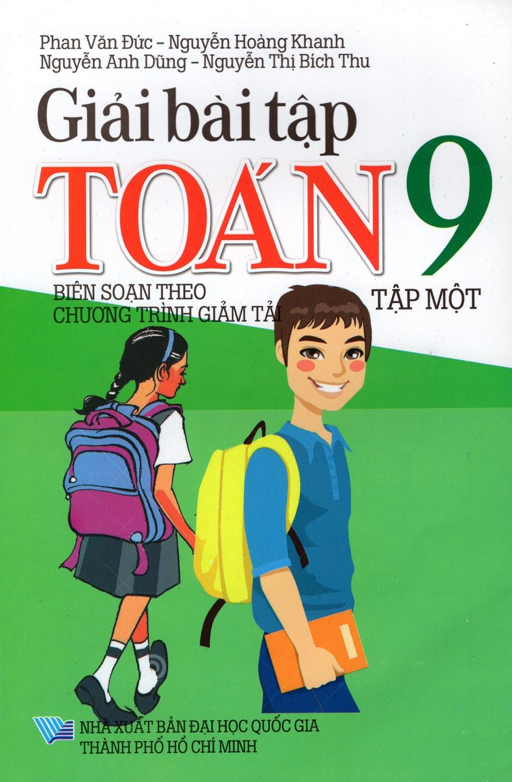 Bìa sách Giải Bài Tập Toán Lớp 9 (Tập Một)