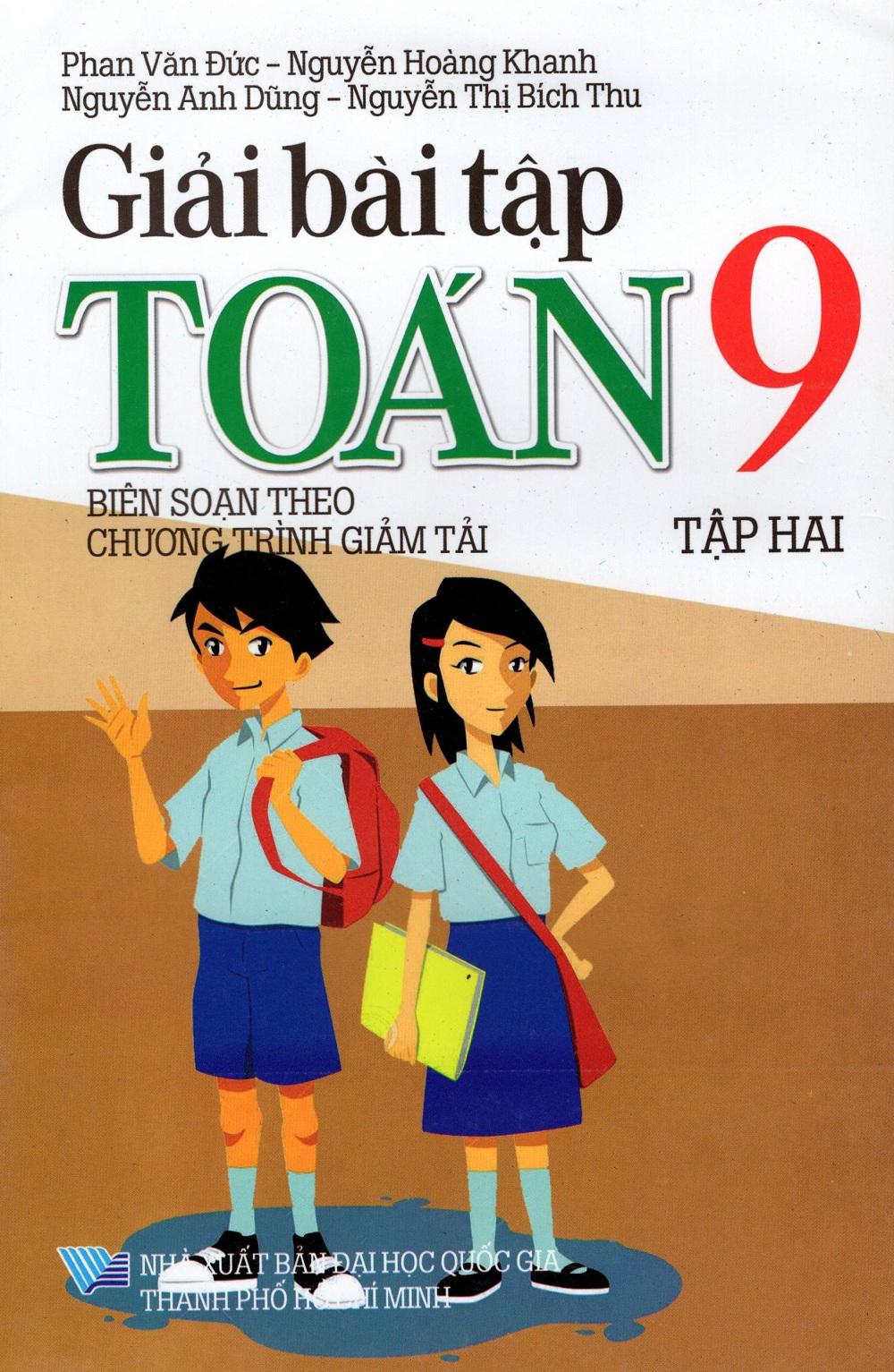 Bìa sách Giải Bài Tập Toán Lớp 9 (Tập Hai)