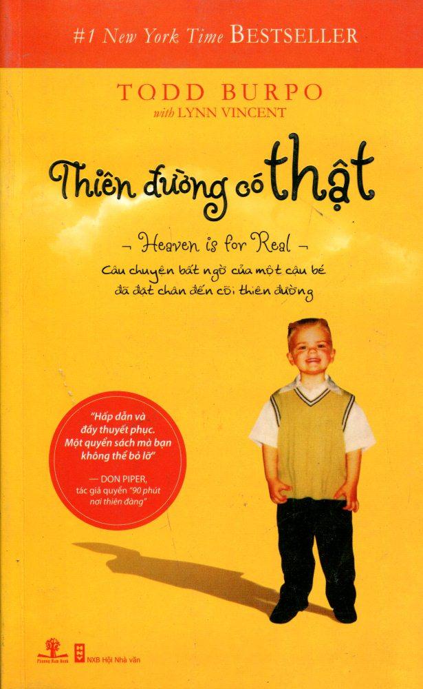 Bìa sách Thiên Đường Có Thật (Tái Bản 2012)