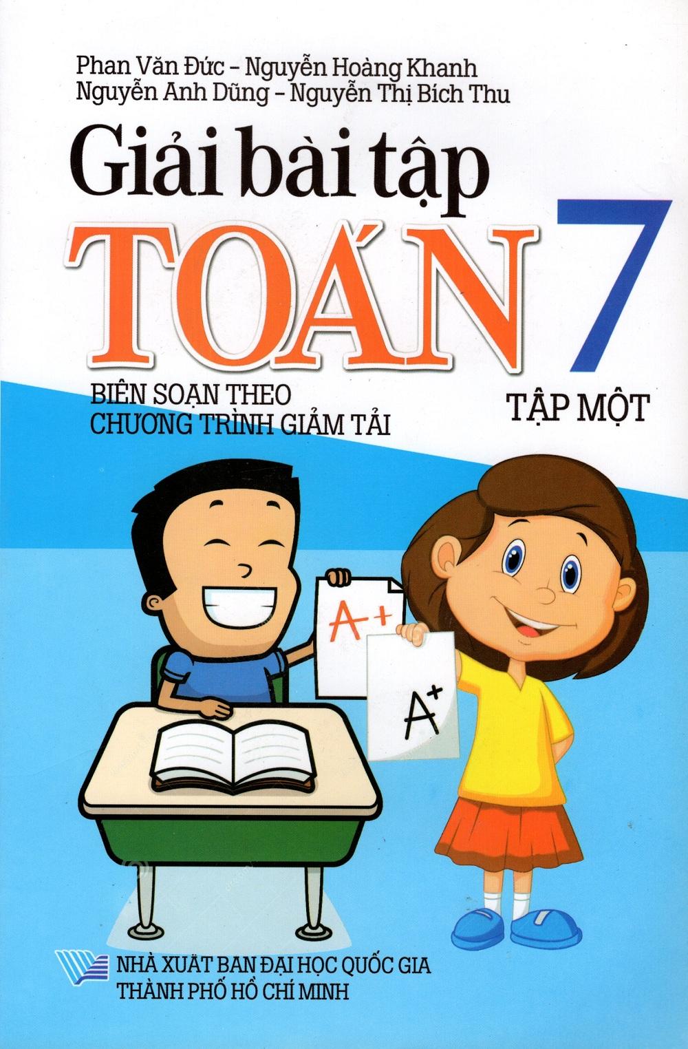 Bìa sách Giải Bài Tập Toán Lớp 7 (Tập Một)