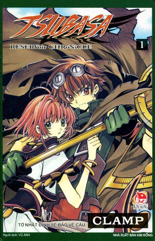 Bìa sách Tsubasa (Tập 1)