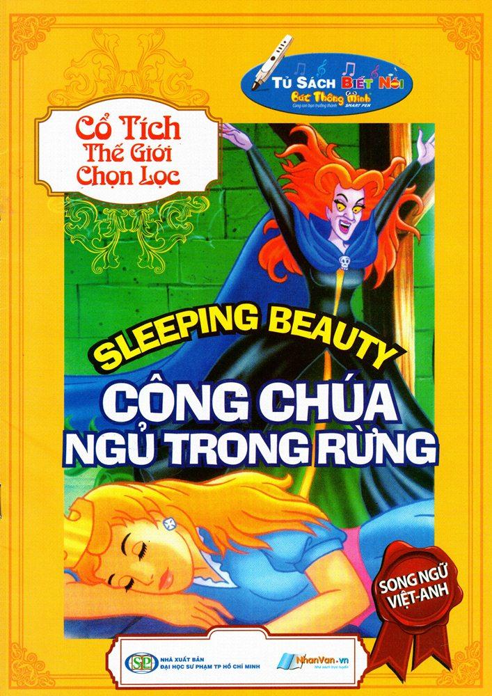 Bìa sách Cổ Tích Thế Giới Chọn Lọc - Công Chúa Ngủ Trong Rừng (Song Ngữ Việt - Anh)
