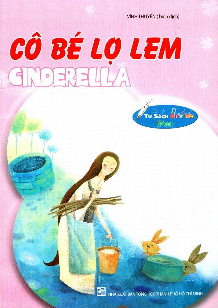 Bìa sách Cô Bé Lọ Lem (Nhân Văn)