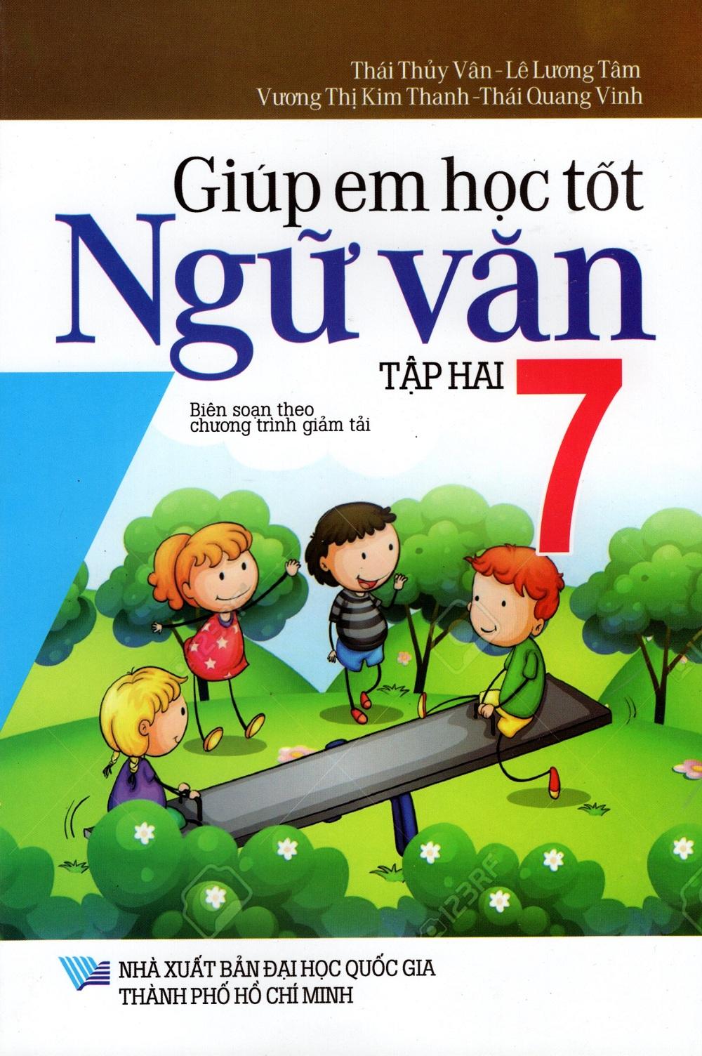 Bìa sách Giúp Em Học Tốt Ngữ Văn Lớp 7 (Tập Hai)
