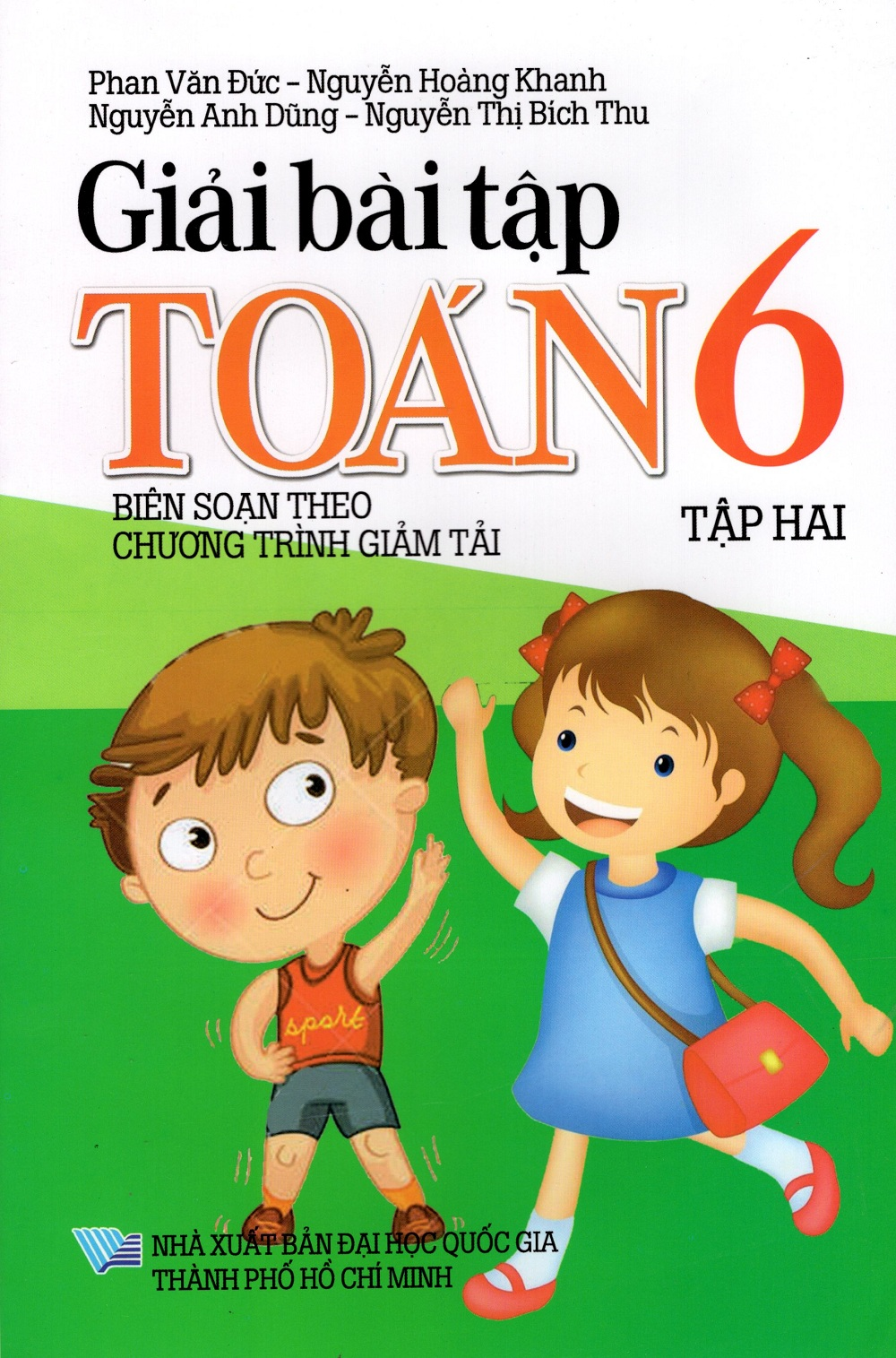 Bìa sách Giải Bài Tập Toán Lớp 6 (Tập Hai)
