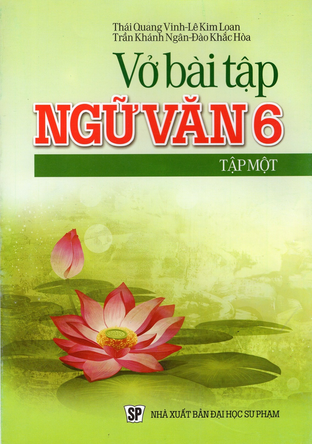 Bìa sách Vở Bài Tập Ngữ Văn Lớp 6 (Tập Một)