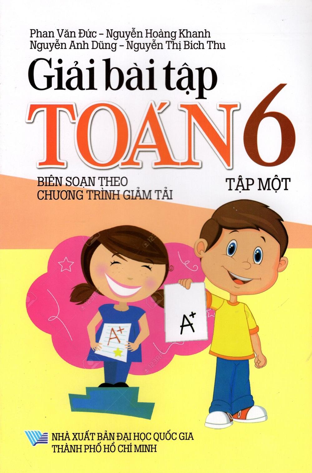 Bìa sách Giải Bài Tập Toán Lớp 6 (Tập Một)