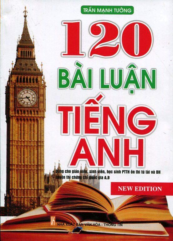 Bìa sách 120 Bài Luận Tiếng Anh