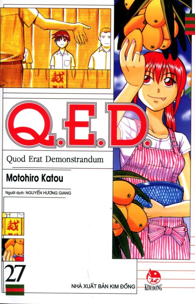 Bìa sách Q.E.D (Tập 27)