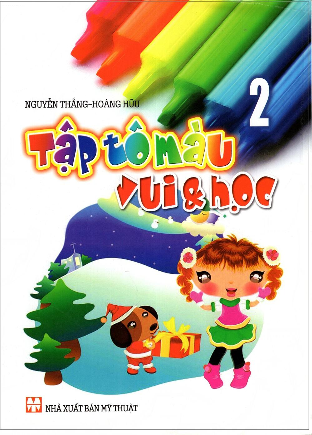 Bìa sách Tập Tô Màu Vui  Học (Tập 2)