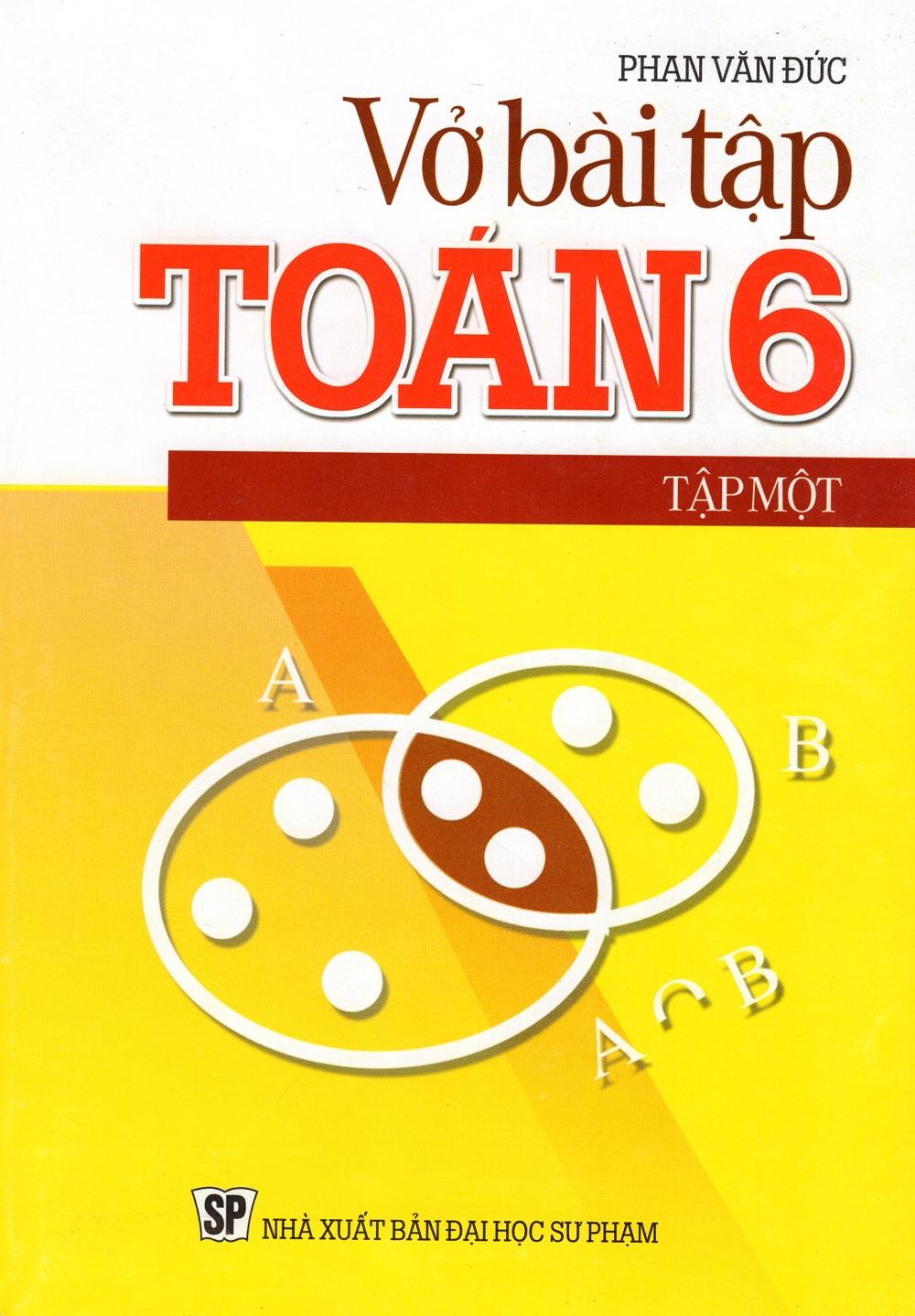 Bìa sách Vở Bài Tập Toán Lớp 6 (Tập Một)