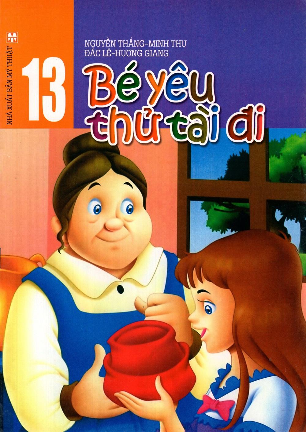 Bìa sách Bé Yêu Thử Tài Đi (Tập 13)