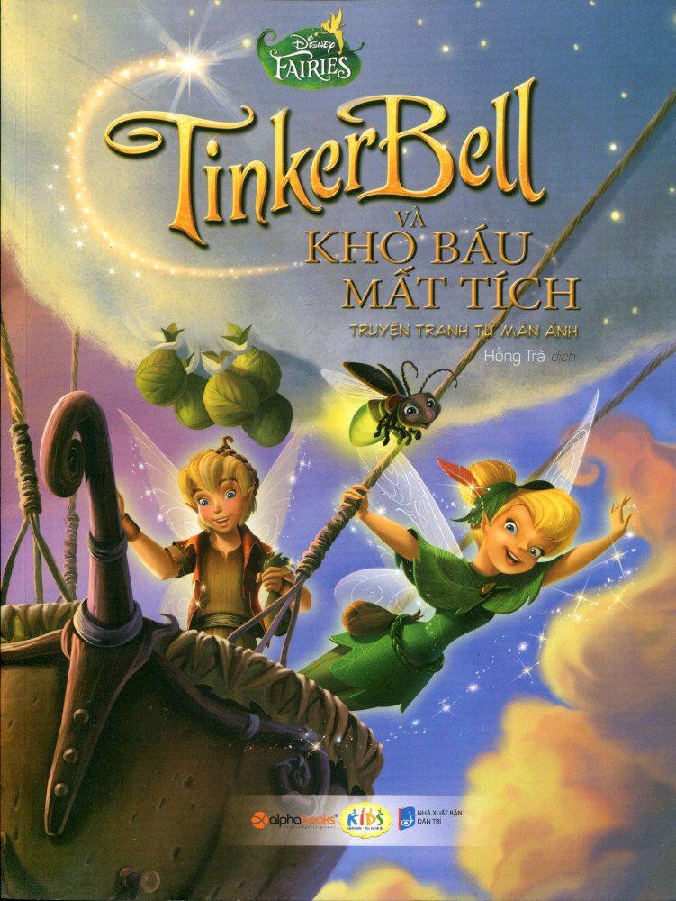 Bìa sách Truyện Tranh Disney - Tinker Bell Và Kho Báu Mất Tích
