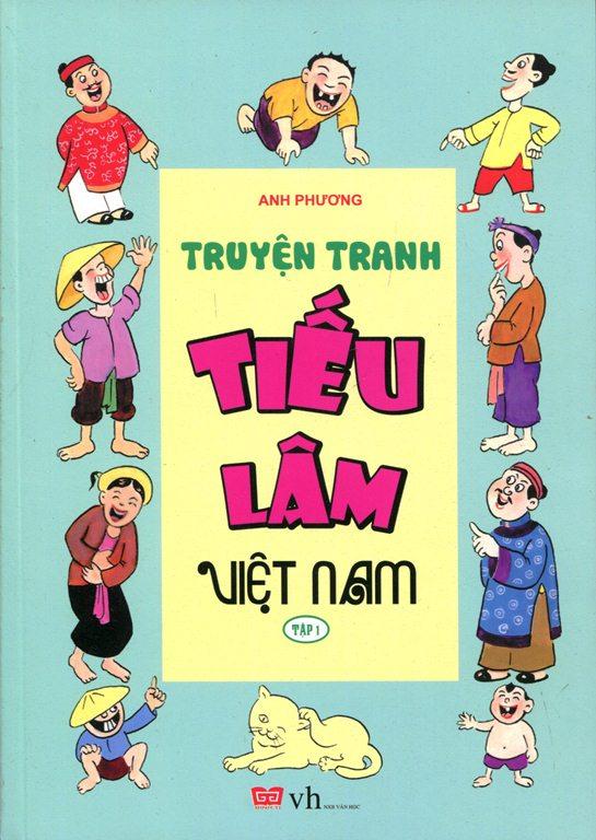Bìa sách Truyện Tranh Tiếu Lâm Việt Nam (Tập 1)