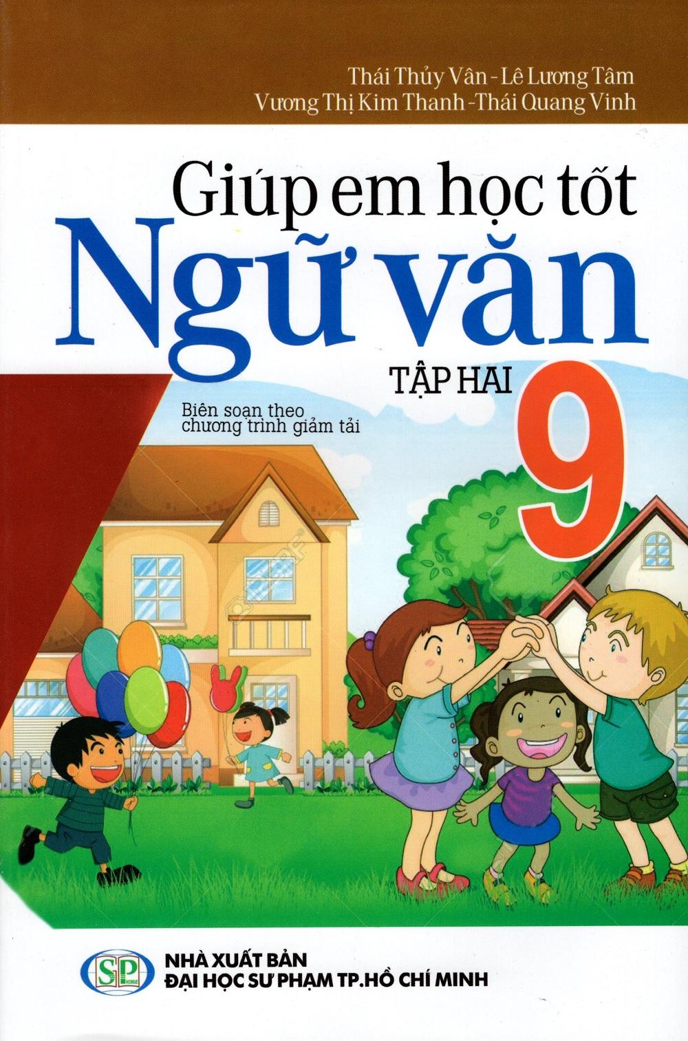 Bìa sách Giúp Em Học Tốt Ngữ Văn Lớp 9 (Tập Hai)