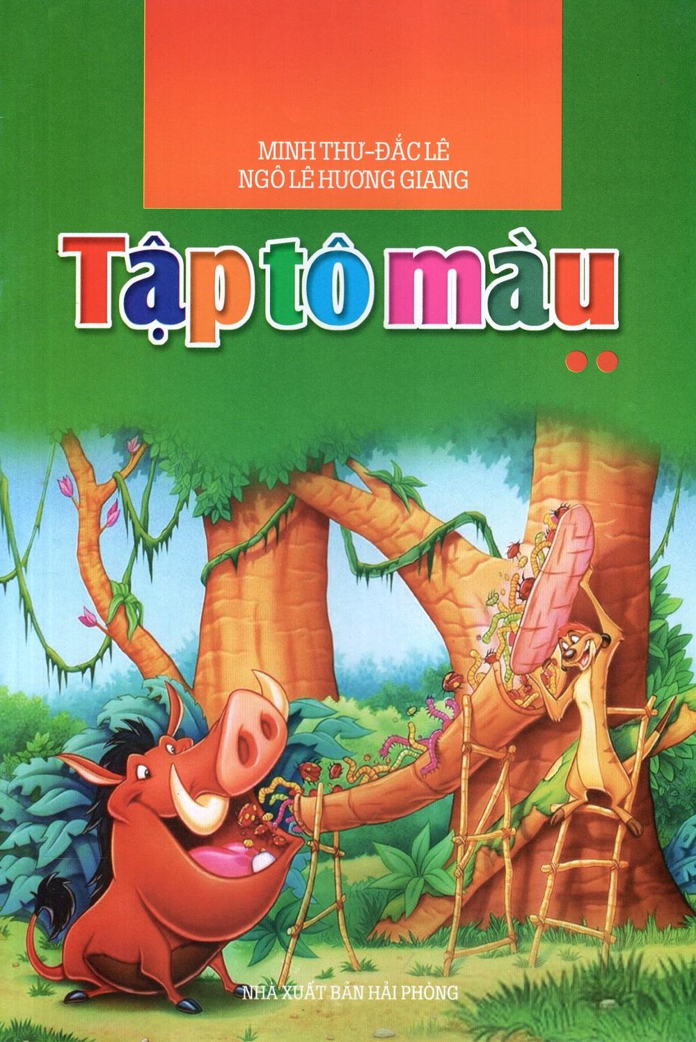 Bìa sách Tập Tô Màu (Tập 2) (2010)