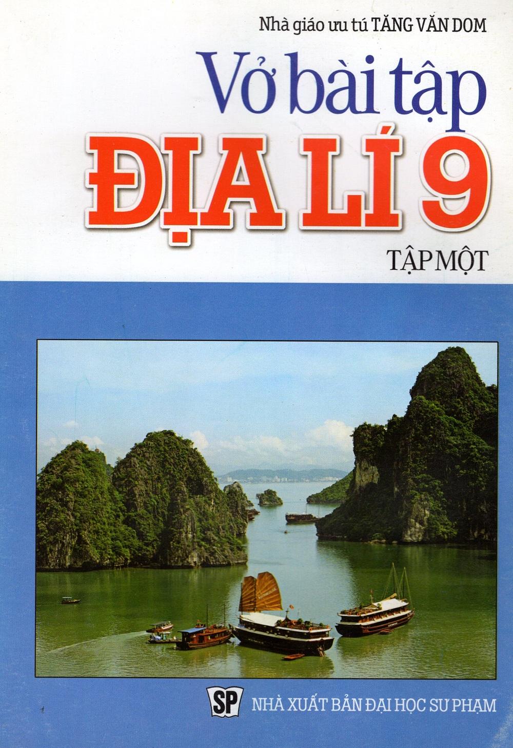 Bìa sách Vở Bài Tập Địa Lí Lớp 9 (Tập Một)