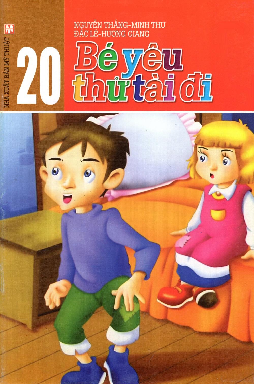 Bìa sách Bé Yêu - Thử Tài Đi (Tập 20)