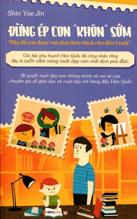 Bìa sách Đừng Ép Con