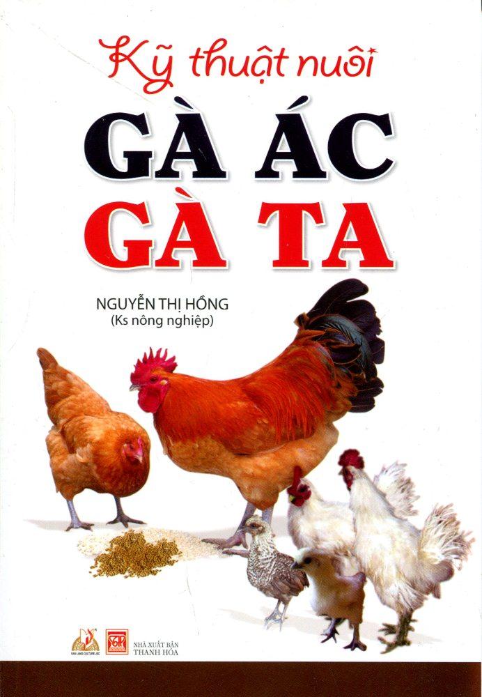 Bìa sách Kỹ Thuật Nuôi Gà Ác, Gà Ta