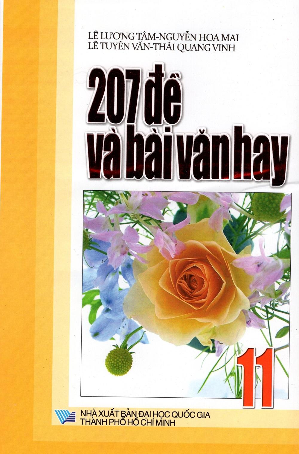 Bìa sách 207 Đề Và Bài Văn Hay Lớp 11