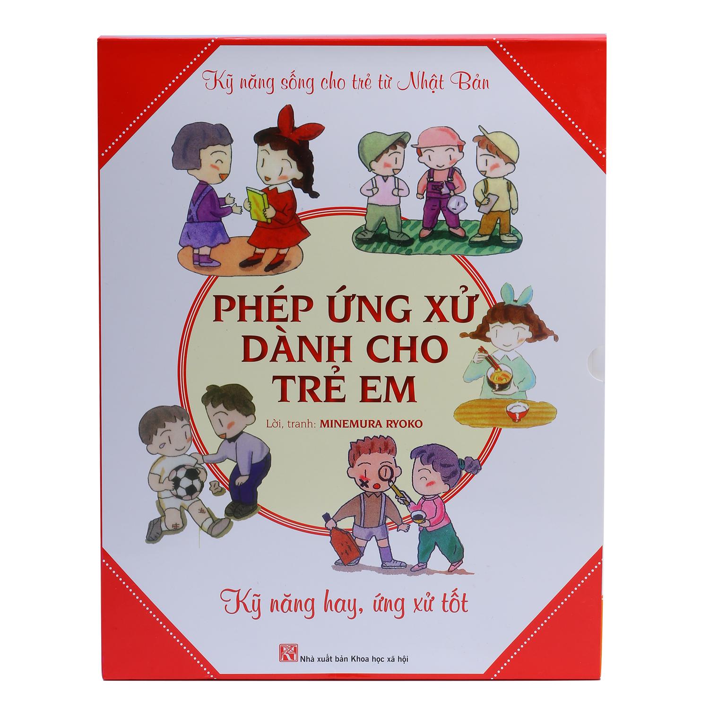 Bìa sách Combo Phép Ứng Xử Dành Cho Trẻ Em (Trọn Bộ 5 Tập)