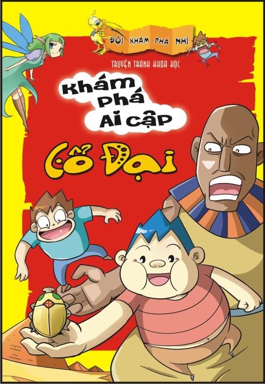 Bìa sách Đội Khám Phá Nhí - Khám Phá Ai Cập Cổ Đại