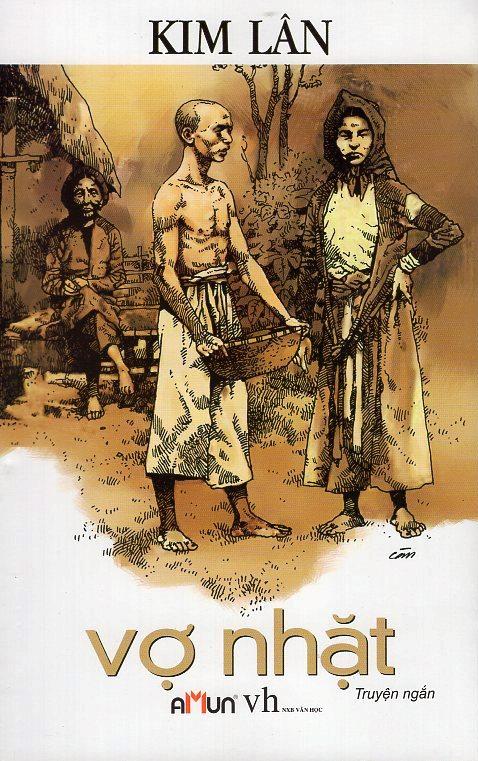 Bìa sách Vợ Nhặt (Tái Bản) (Đinh Tị)