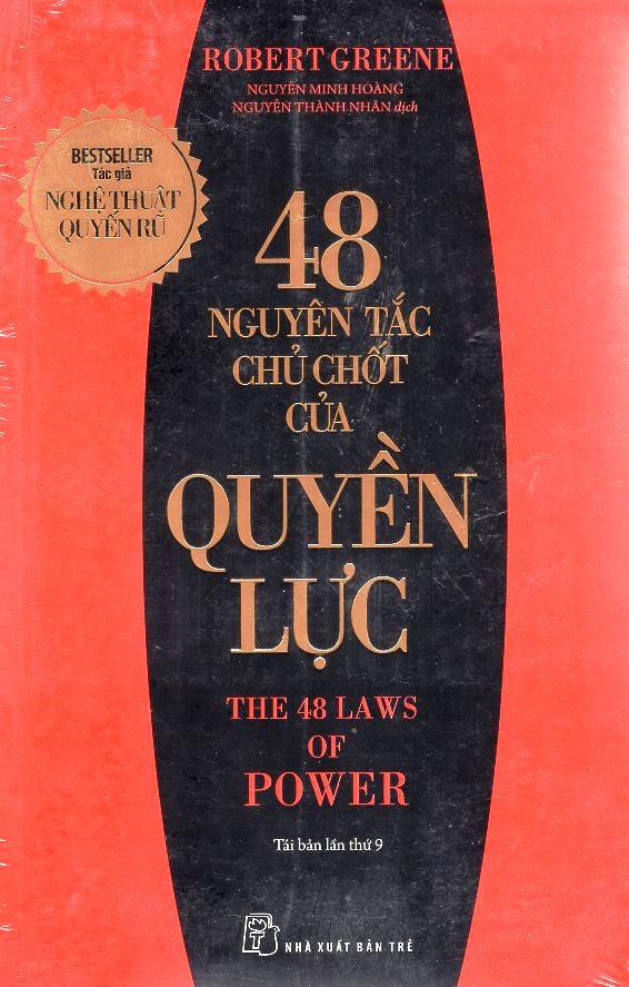 Bìa sách 48 Nguyên Tắc Chủ Chốt Của Quyền Lực (Tái Bản)