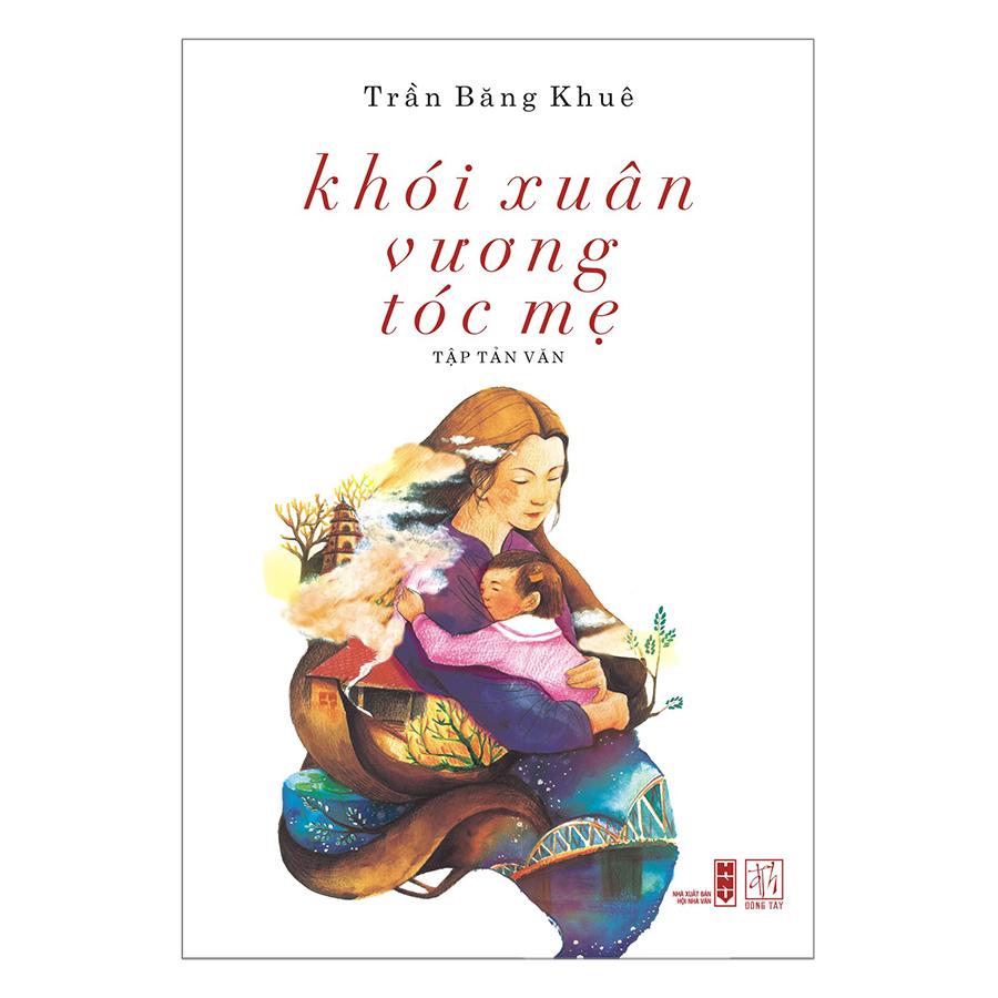 Bìa sách Khói Xuân Vương Tóc Mẹ