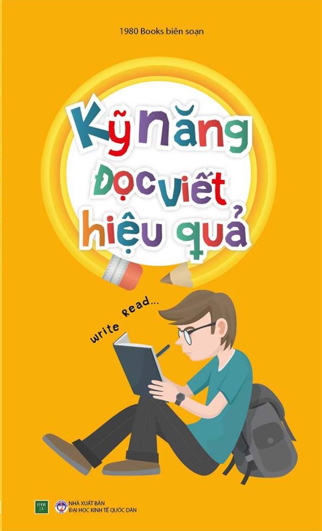 Bìa sách Tủ Sách Kỹ Năng Học Tập - Kỹ Năng Đọc, Viết Hiệu Quả