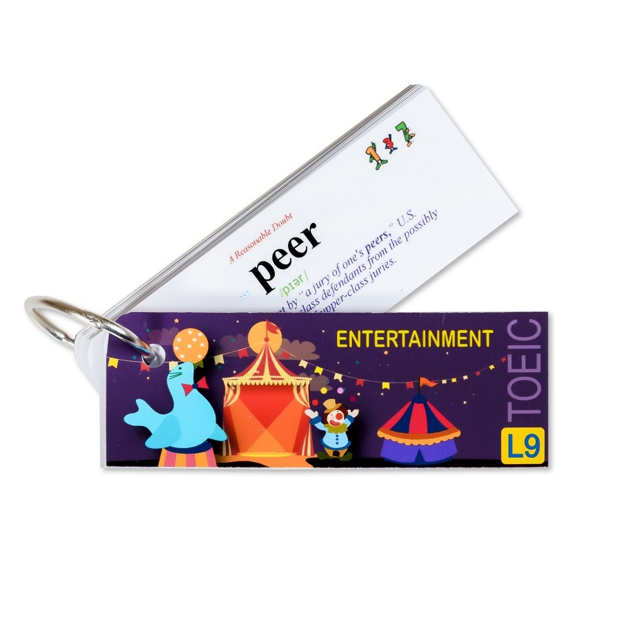 Flashcard Entertainment Best Quality (L9)