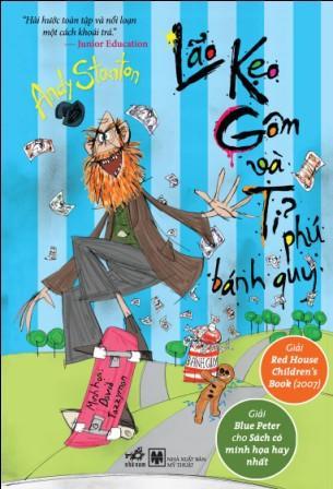 Bìa sách Lão Kẹo Gôm Và Tỉ Phú Bánh Quy (Tái Bản 2014)