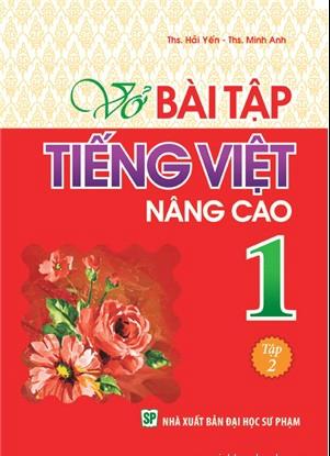 Bìa sách Vở Bài Tập Tiếng Việt Nâng Cao Lớp 1 - Tập 2
