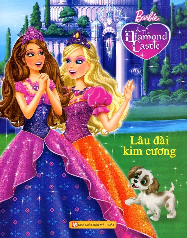 Bìa sách Barbie - Lâu Đài Kim Cương