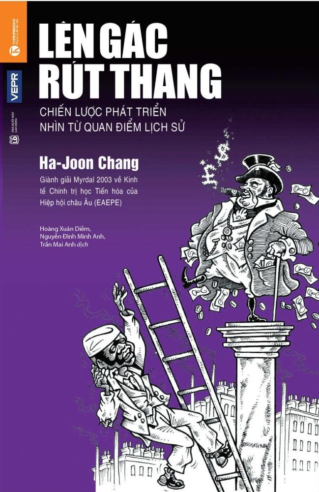 Bìa sách Lên Gác Rút Thang (Bìa Cứng)