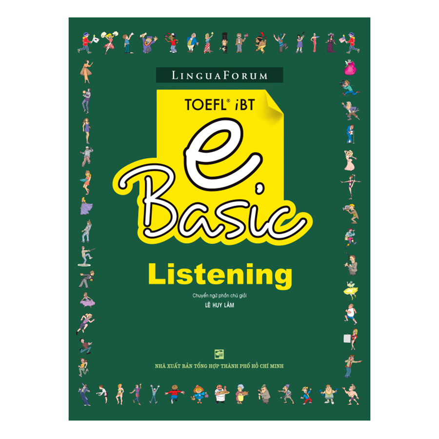 Bìa sách LinguaForum TOEFL iBT eBasic-Listening (Without Audio CD)