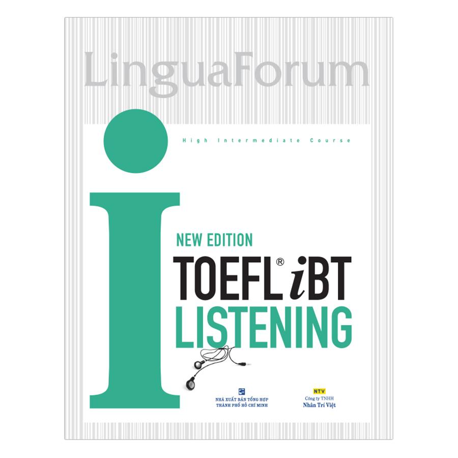 Bìa sách Toefl iBT I Listening New Edition (Kèm CD)