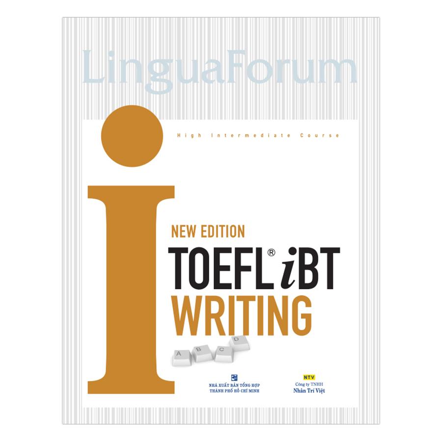 Bìa sách Toefl iBT I Writing New Edition (Kèm CD)