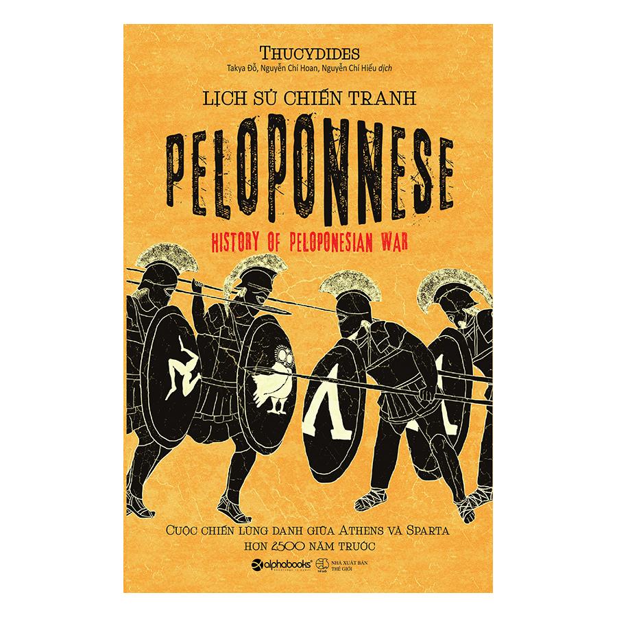 Bìa sách Lịch Sử Chiến Tranh Peloponnese
