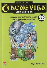 Bìa sách Ô Long Viện Linh Vật Sống - Tập 28