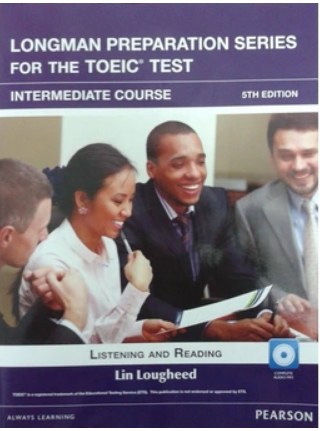 Bìa sách Longman Preparation TOEIC (5 Ed.) VN Inter: Student Book With I-Test - Paperback