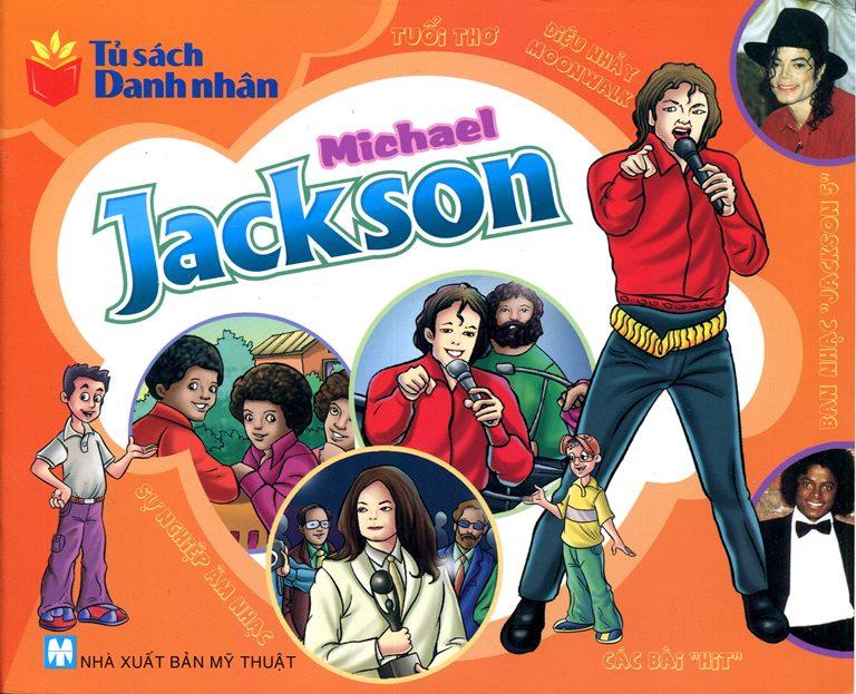 Bìa sách Tủ Sách Danh Nhân - Michael Jackson